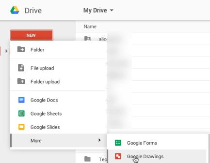 Google Drive Google Draw