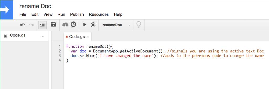 2 lines of code