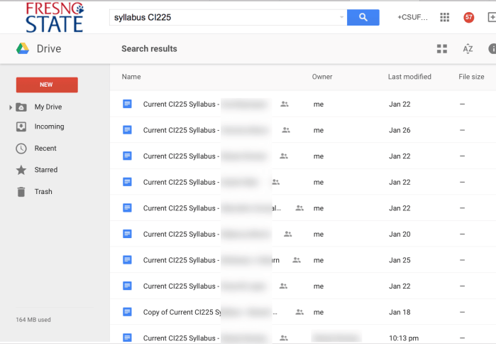 google classroom search