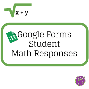 Google Forms Math