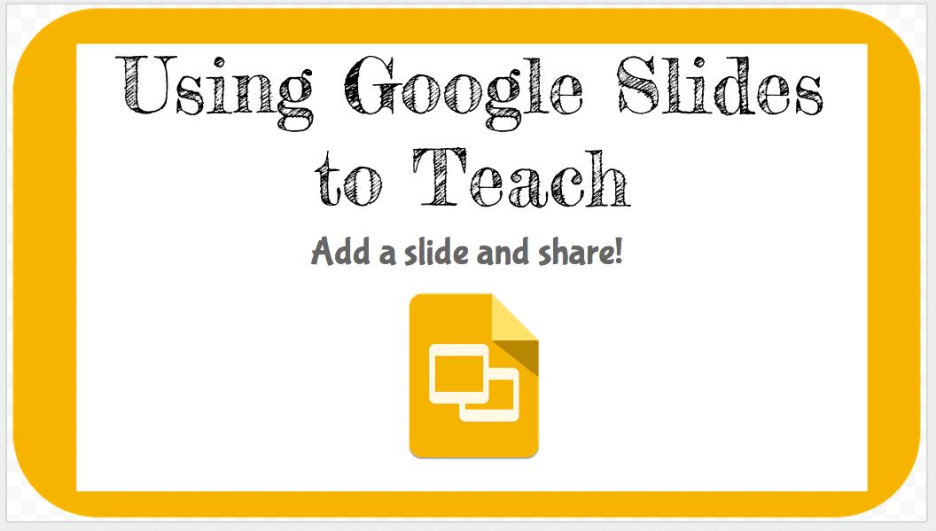 using google slides to teach teacher tech