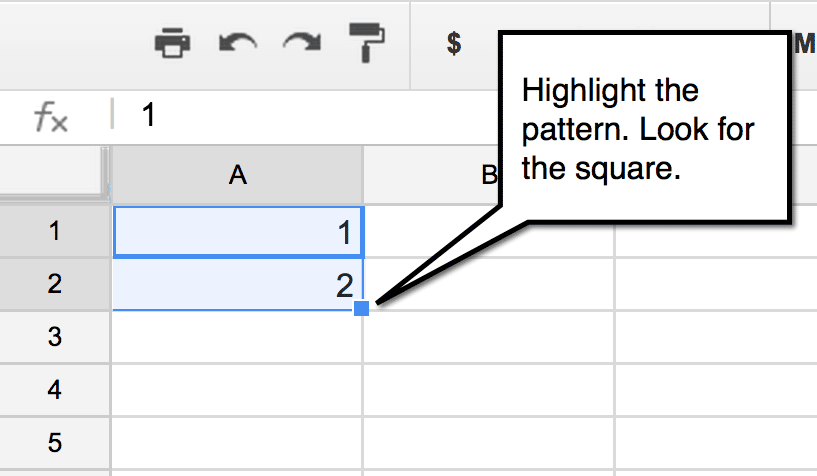 google sheets fill down teacher tech