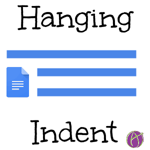 Google Docs Create A Hanging Indent Teacher Tech