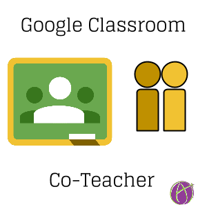 Co-Teacher in Google Classroom