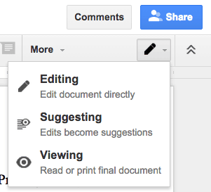 Document viewing options