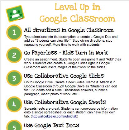 Google Classroom: 6 Tips to Level Up - Teacher Tech