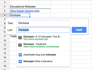 Auto predict in Google Sheets - Teacher Tech