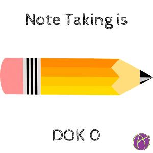 note taking dok 0