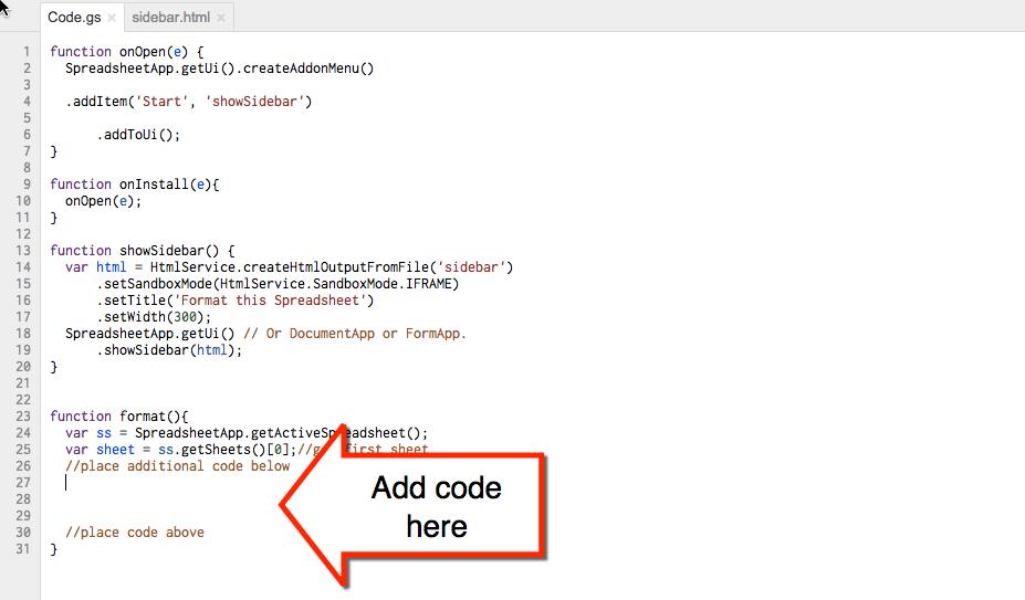 Google Apps Script: Format a Sheet - Teacher Tech