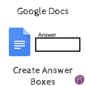Google Docs Answer Boxes
