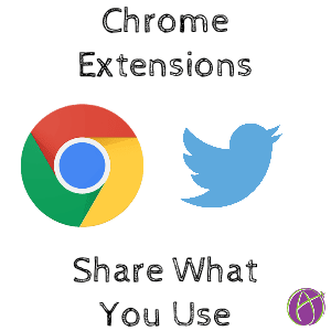 chrome extensions for Twitter