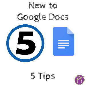 5 Tips for noobs to google docs