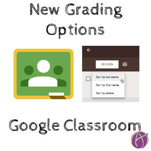 Google Classroom Grading