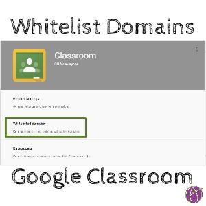 Whitelist domains