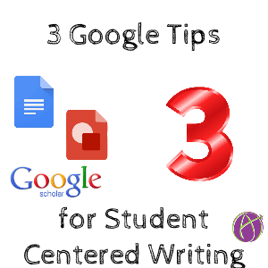 3 Google Resources for Student Centered Writing by @shfarnsworth - Teacher Tech
