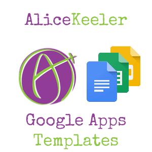 alice keeler Google Apps templates
