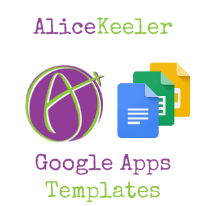 alice keeler Google Apps templates