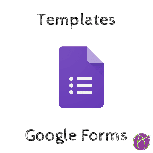 google forms templates teacher tech