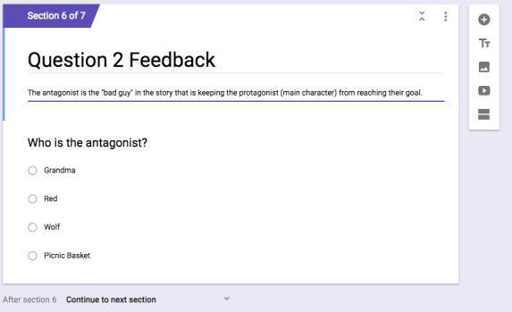 feedback instruction