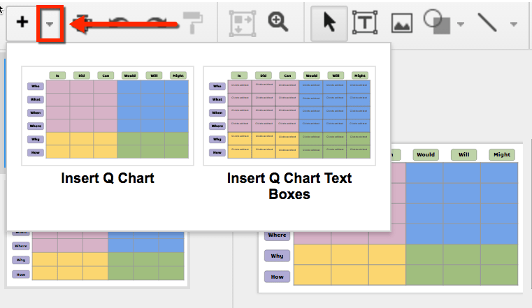 google slides q chart template use layouts