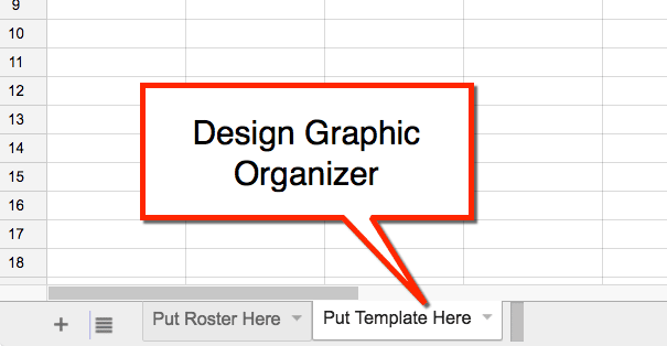 design graphic organizer in templatetab