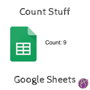 Count Google Sheets