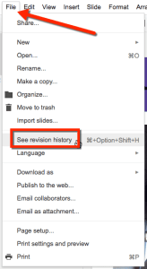 file see revision history