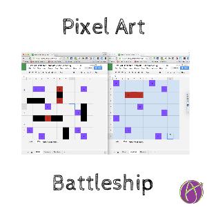 pixel art battleship