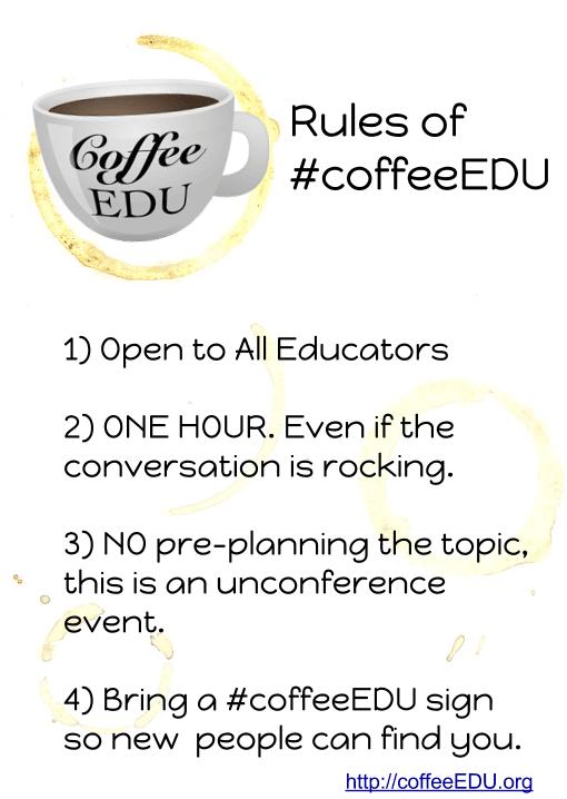 coffeeEDU rules