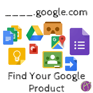 find your google product