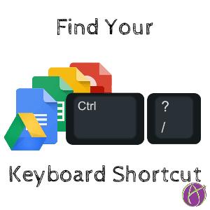 Find your keyboard shortcut
