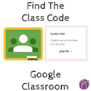 Google Classroom class code