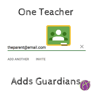 One teacher adds guardians