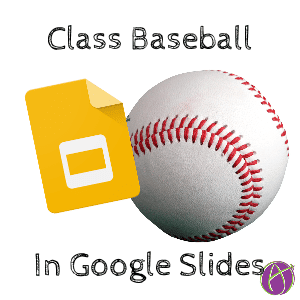 class baseball review game google slides
