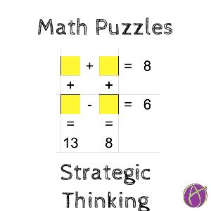 math puzzles strategic thinking