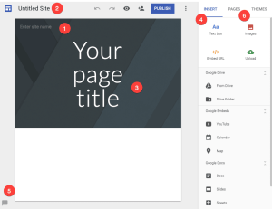 New Google Sites get going