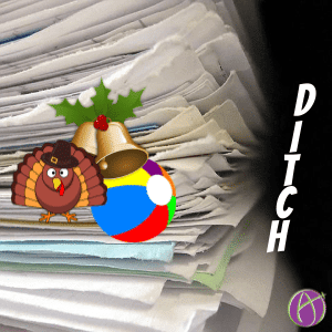 ditch the holiday break packets