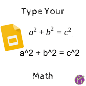 type math type your math