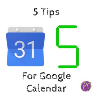 5 tips for explore google calendar