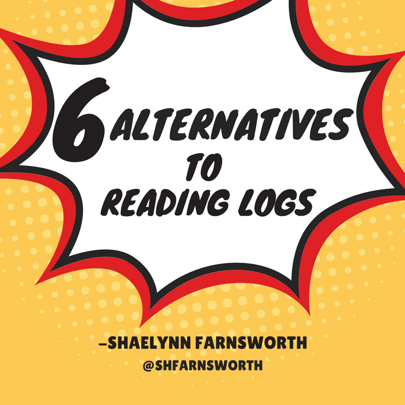 6 Alternatives to Reading Logs by @shfarnsworth