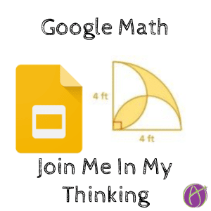 Google Math: Join Me In My Thinking - Teacher Tech