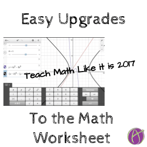 Easy Ways to Upgrade an Assignment from 1900 to 2017 - Teacher Tech