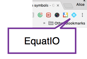 EquatIO Chrome extension