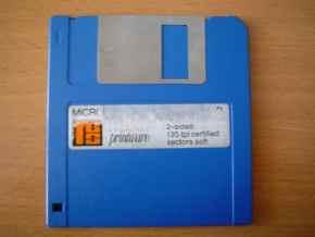 3.5 inch floppy disk