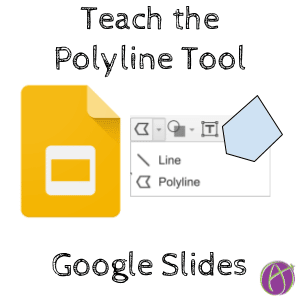 polyline tool in google slides