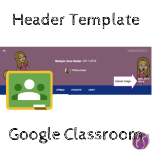 Google Classroom: Header Template - Teacher Tech