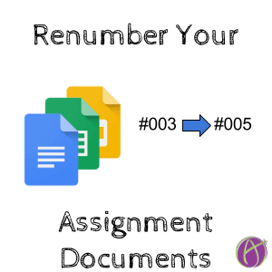 Remove Assignment Numbers