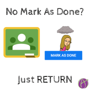 mark as done