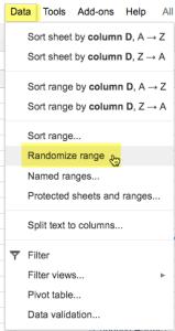 Randomize Range