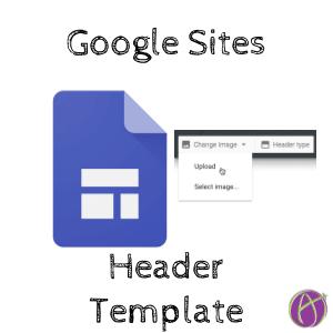 Google Sites Header Image Template Teacher Tech